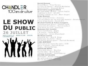 show du public
